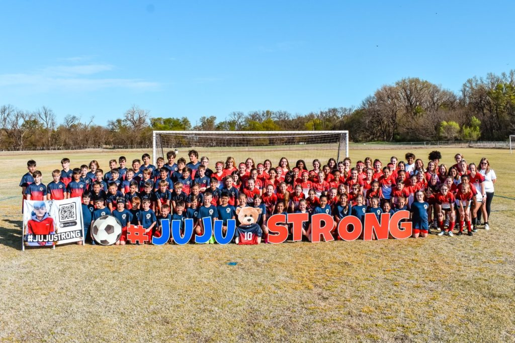 Ponca City Soccer Rec and Competitive players, a club photo